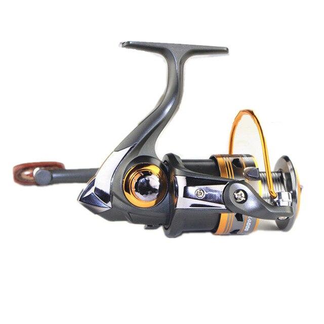 2000 Series 11BB 5.2:1 Ball Bearings Sea Aluminum Rolling Fishing Spinning Reels Saltwater Rock Fishing Fish Line Wheel