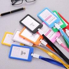 Для мужчин и женщин, держатель для кредитных карт, кошелек, держатель для карт, Кличка для работы, держатель для карт для студентов, визитная карточка