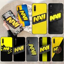 PENGHUWAN Natus Vincere navi Cover Black Soft Shell Phone Case for Redmi Note 8 8A 7 6 6A 5 5A 4 4X 4A Go Pro Plus Prime