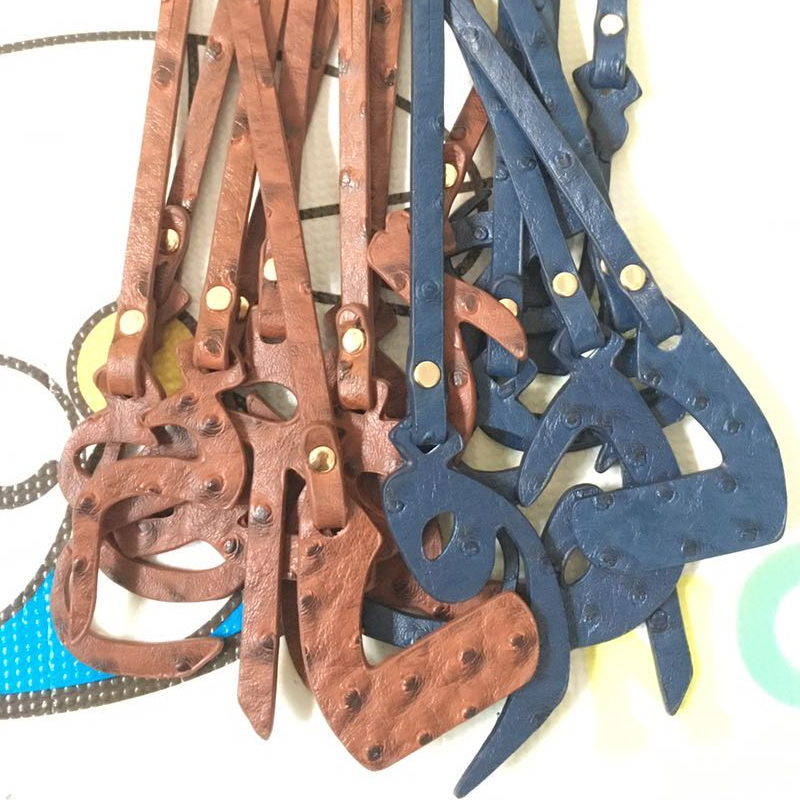 Customized 9 Nice Arabic Letter Decoration For Women Bag Backpack Pendant Tag Ladies Women Bag Wholesales