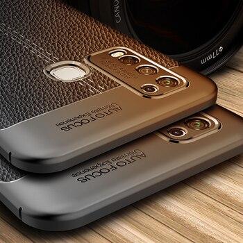 Перейти на Алиэкспресс и купить ДЛЯ Vivo Y50 чехол Y19 V11 V15 V17 Pro роскошный кожаный мягкий Силиконовый ТПУ противоударный чехол-бампер для телефона чехол для Vivo Y50
