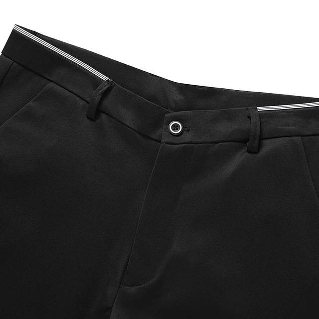 Men's Suit Pants Spring and Summer Male Dress Pants Business Office Elastic Wrinkle Resistant Big Size Classic Trousers Male 5