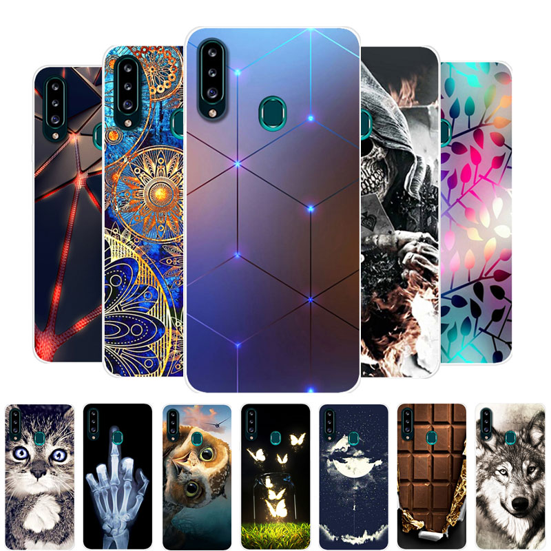 For Galaxy A20S Case Samsung Galaxy A20S Case Silicone TPU Soft Back Cover Phone Case For Samsung A20S A 20S A20 S A51 Bumper