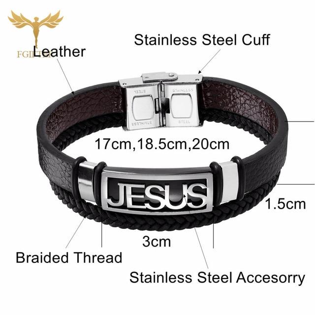 Stainless Steel Christian Cross
