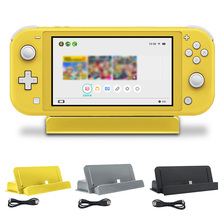 ABS Fast Charger Type-c Practical DC 5V Professional Dock Station Adjustable USB Charging Stand Game Console For Switch Lite