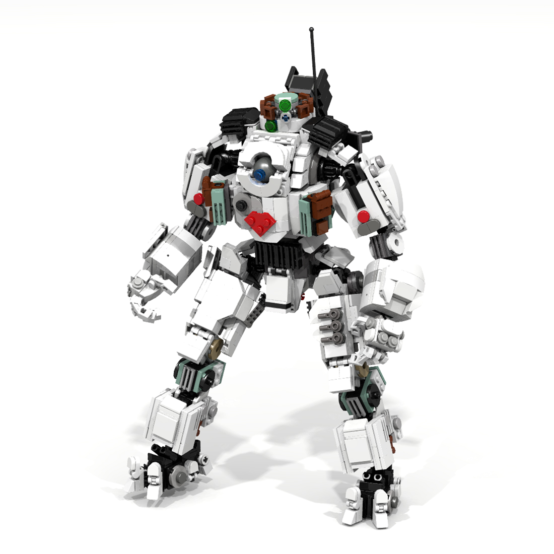 Building-Blocks Mecha MOC Bricks Educational-Toy for Christmas New-Year 1252pcs Gift-Set