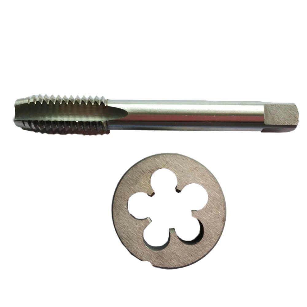 New 1pc HSS Machine 7//8-14 UNF Plug Tap and 1pc 7//8-14 UNF Die Threading Tool