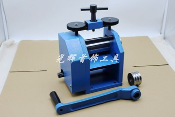 Jewelry Rolling Mill European Manual Operation Tablet Machine craft jewelry tool  and Equipment free shipping pepe jewelry making tools 110mm jewelry rolling mill gold rolling mill 1pc lot