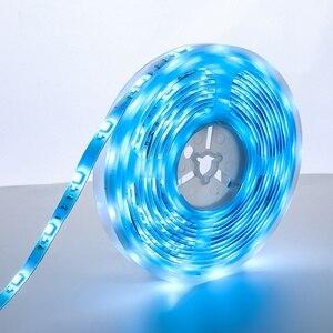 Image 4 - Светодиодный светильник BlitzWolf, водонепроницаемый светодиодный светильник с пультом дистанционного управления и регулируемой яркостью, 2 м/5 м, RGBW