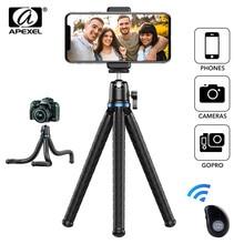 APEXEL Telefon Selfie Stick Stativ Erweiterbar Flexible Octopus 360 Rotation Vertikale Schießen stativ Halter für Gopro Sony Nikon