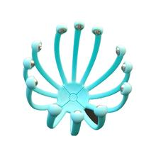 Portable Scalp Massager Steel Ball Head Massage Claw Clearing The Veins Soothing Refreshing 12 Claws(China)