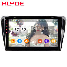 "Klyde 10,1 ""IPS 4G Android 9,0 Octa Core 4GB RAM 64GB ROM DSP BT coche DVD reproductor Multimedia Radio para Skoda Octavia A7 2014-2018(China)"