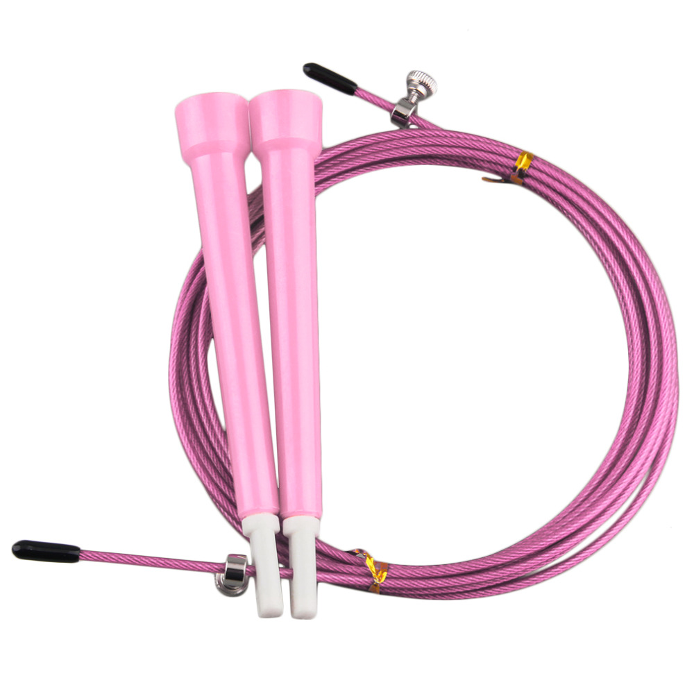 Durable Ropes Cable Steel Jump Skipping Jumping Speed Fitness Rope Cross Fit MMA Boxing Gym Crossing Equipment Drop Shipping