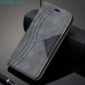 Магнитный флип-чехол для Huawei honor 9c 9s Pmart 2020 Ретро Nova7SE P40lite P40 lite 5G Y5P Y6P Y7P кожаный защитный чехол-кошелек