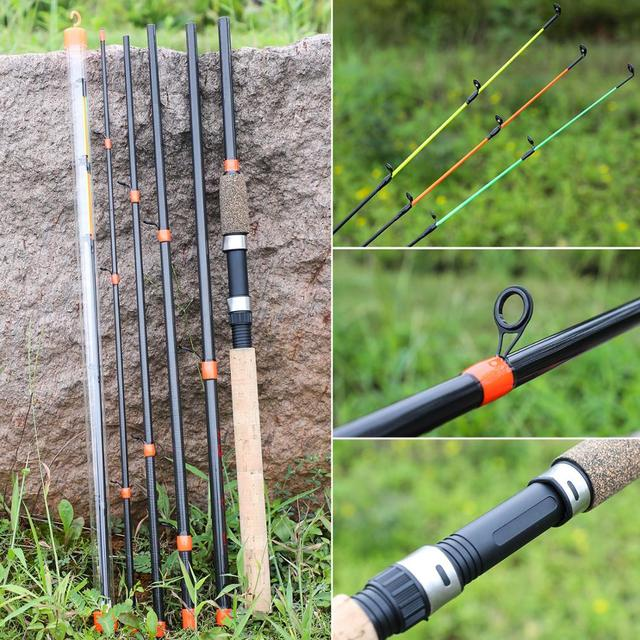 Awesome No1 Fishing Rod Ultralight Weight Fishing Rods cb5feb1b7314637725a2e7: White|Yellow