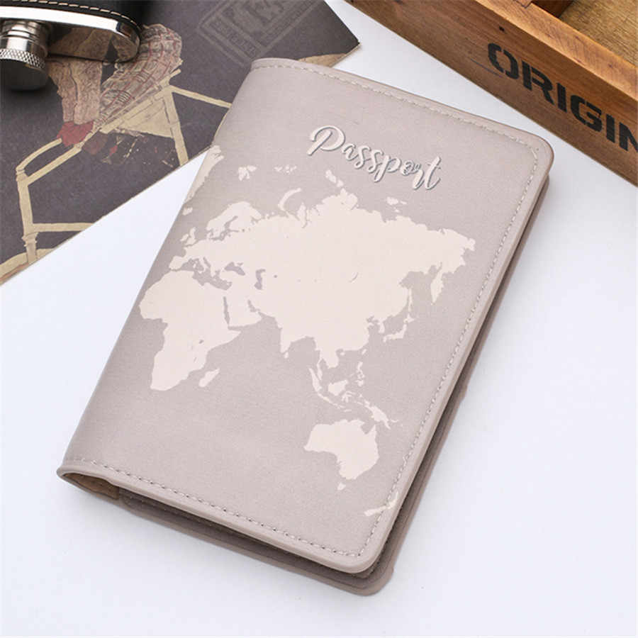 Zoukane Nieuwe Cover Travel Passport Cover Card Case Vrouwen Mannen Reizen Creditcardhouder Reizen ID & Document Paspoorthouder CH02A