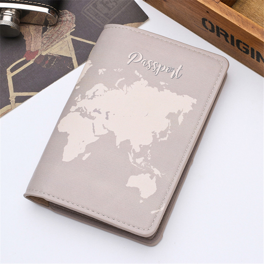 Zoukane New Cover Travel Passport Cover Card Case Women Men Travel Credit Card Holder Travel ID&Document Passport Holder CH02C