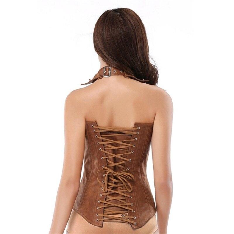 Женский корсет в стиле стимпанк бюстье Длинные overbust выше