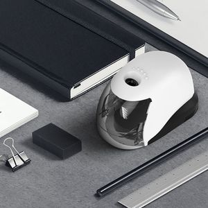Image 3 - USB Electric Pencil Sharpener Simple Business Style Automatic Sharpeners Desktop School Office Supplies