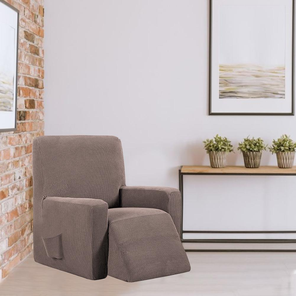 Housse canapé relax inclinable moderne
