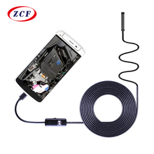 AN97 PC Android Endoscoop HD720P 8mm Lens 6LED 1 m/1.5 m/2 m/3.5 m /5 m/10 m Kabel Waterdicht Inspectie Borescope voor Android Telefoon PC
