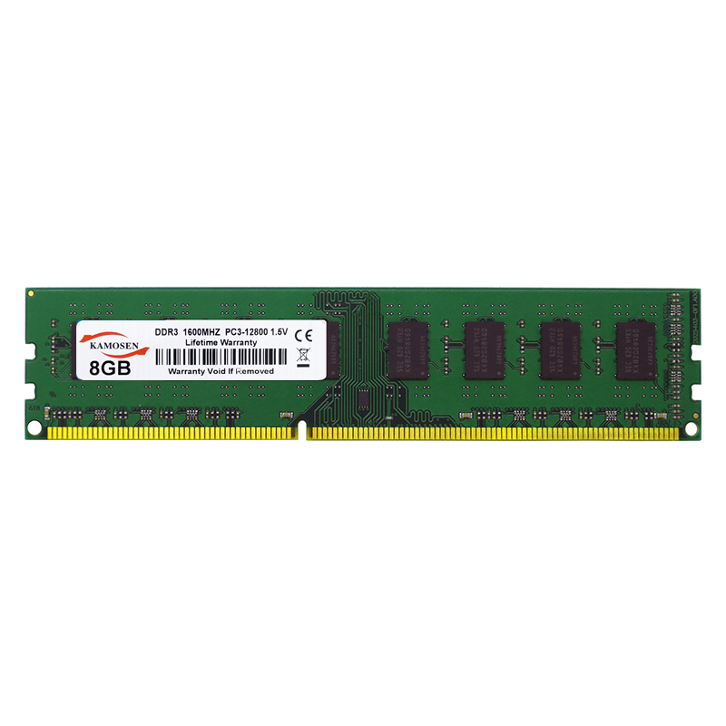 Kamosen amd placa-mãe dedicado 4gb 8gb 16gb 1333 1600mhz ddr3 memória ram desktop não suporta intel placa-mãe