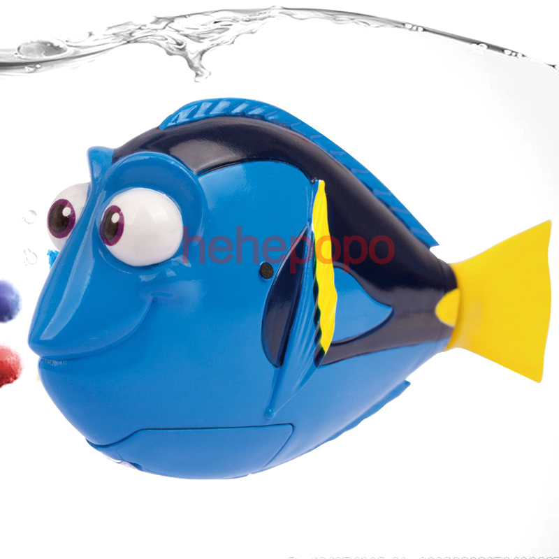 1 Pcs Flash Swimming Electronic Pet Robot Fish Bath Toys For Children Kids Battery Powered Swim Robotic Fishing Nemo Decoration