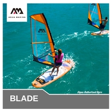 Sail-Board PADDLE Blade-Stand-Up Aqua Marina Sup Windsurf Inflatable 320x84cm Sail-To-Be-Bought-Separately