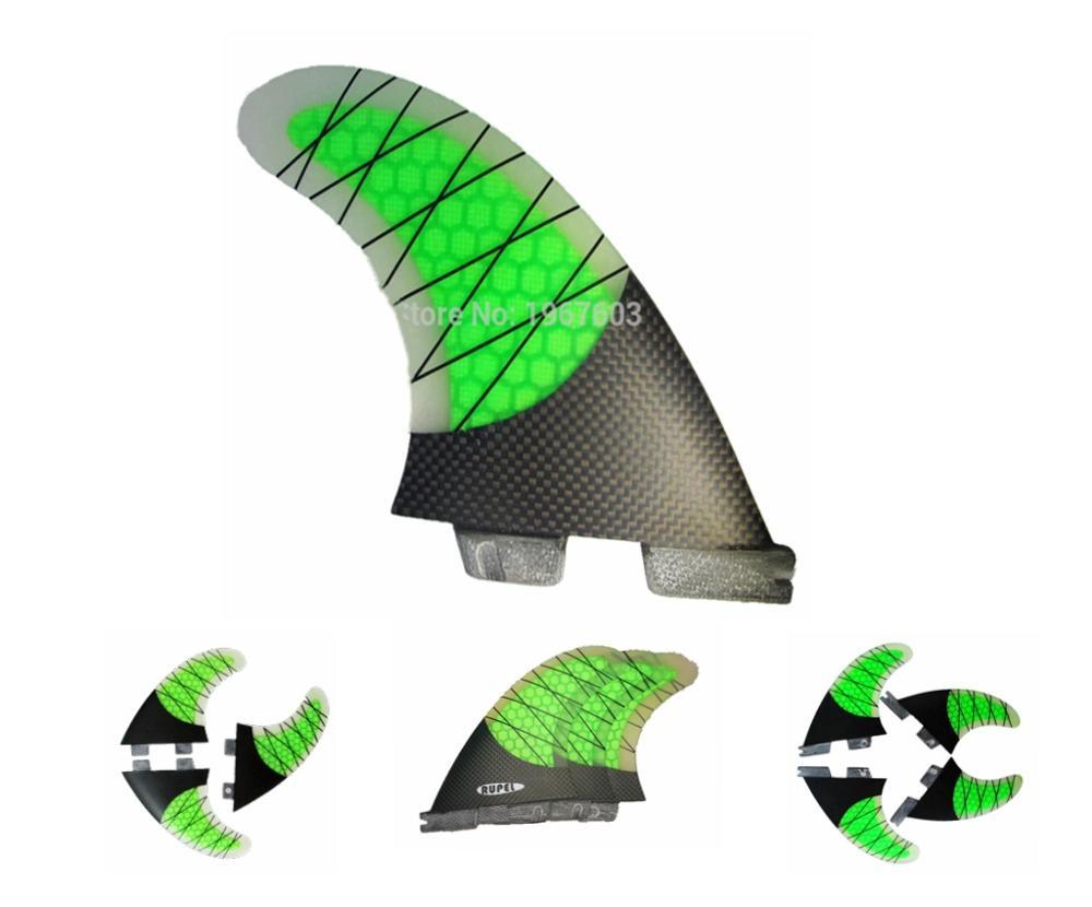 Комплект плавников для серфинга G7 G5, полууглеродная система FC, 2 плавника для серфинга, набор Thrusters I II
