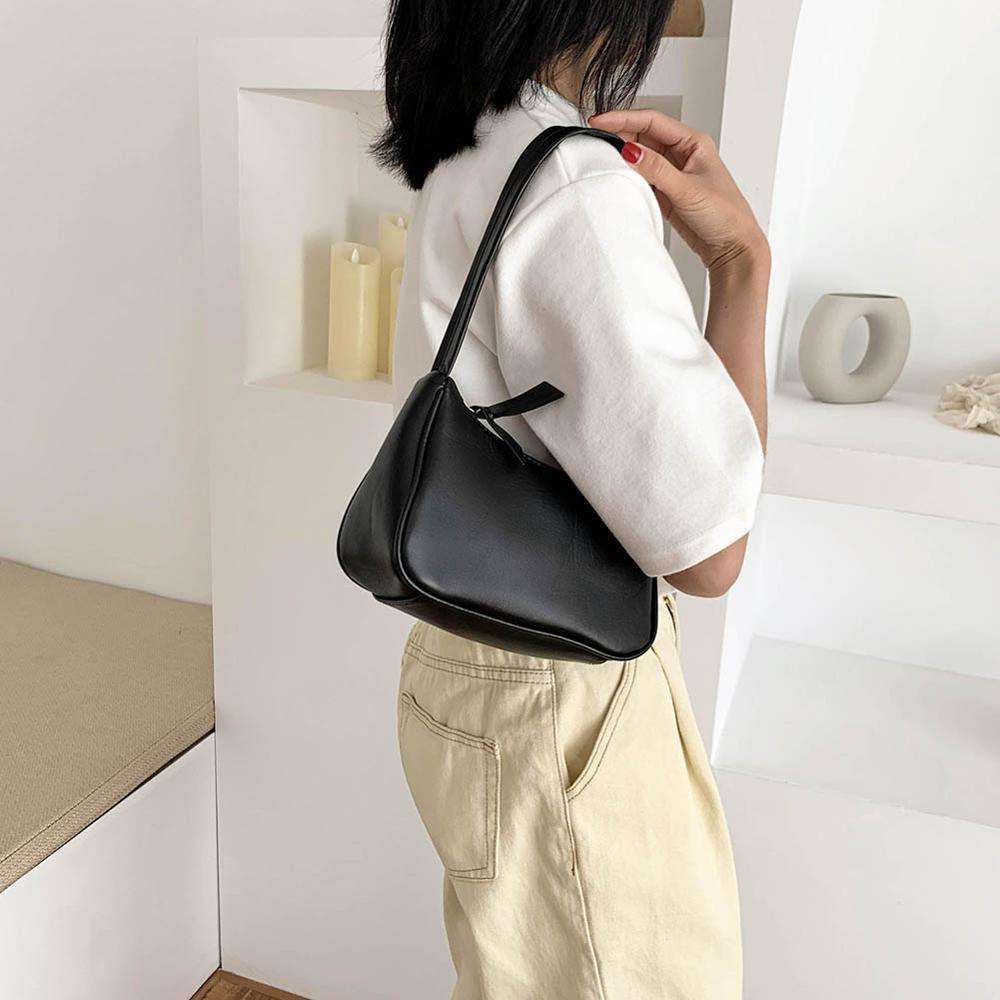 Retro Shoulder Bag Vintage Handbag Hobos Bag for Women PU Leather Female Baguette Bag Subaxillary Mini Bolsa Bolsa Feminina2020 2