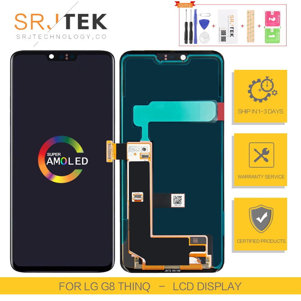 1440x3120 6.1 inch For LG G8 ThinQ Display Matrix Touch For LG G8 ThinQ Screen Digitizer Assembly For LG G8 ThinQ LCD Display фото