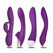 Dildo G Spot Vibrator Rabbit Nipple Clitoris Stimulation Erotic Sex Toys for Couples Woman Adult Vagina Massager Sex Goods Shop