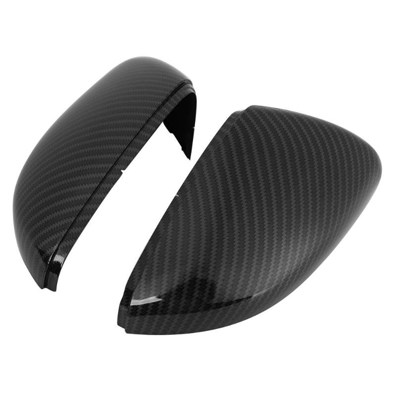 Hot Sale Side Mirror Covers Wear Resistant 2pcs Carbon Fiber Look Replacement Wing Mirror Covers For Vw Golf Gti Mk6 09 13 Mirror Covers Aliexpress