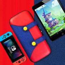 Nintendo Switch, игровой хост, Марио, строгаж, сумка, ns лошадиная сила, школьная сумка, Мини Ручной Чехол для переноски