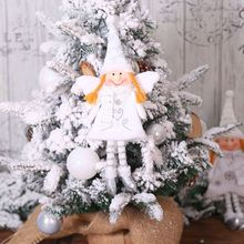 Holiday Dinning Table Decoration Angel Design Wine Bottle Covers Christmas Decorative Hanging Ornaments X