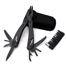 folding Knife Multi Tool Pliers EDC Tools Ganzo Multitools Folding Plier Fishing 19 in 1 crimping tool pocket knife