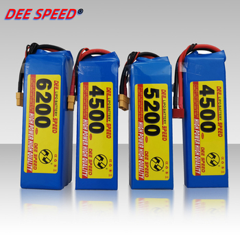 Dee 3S RC Lithium Battery 11.1V 1300 1500 1800 2200 2600 3000 3500 4200 6000mAh 25C 35C 60C for UAV Helicopter Car 3S LiPo RC image