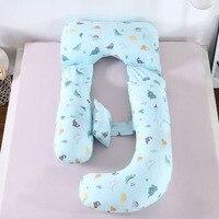 Pregnant Women Body Pillow Cartoon Pregnancy Pillow Sleeping Support Cushion Printed Maternity Pillow Pregnant Bedding Items