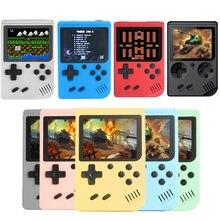 Mini portátil retro console de vídeo jogo handheld jogadores menino 8 bit 3.0 Polegada tela lcd 400/500 em 1 jogo