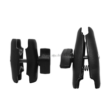 65mm or 95mm Double Socket Arm used with 1 Inch Ball Bases and Holder mount for Gopro Camera Smartphone for Ram Mount Drop Ship