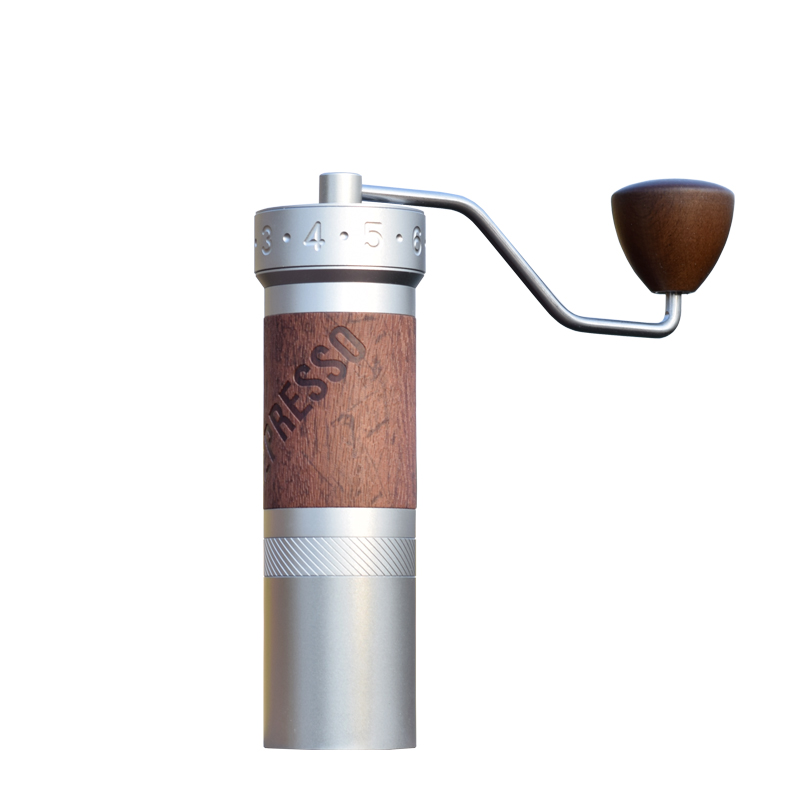 1zpresso K-pro macinino da caffè Portatile manuale mulino di caffè in acciaio inox 304 burr regolabile 40mmTitanium placcato burr