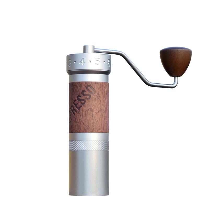1zpresso k-プロコーヒーグラインダー手動コーヒーミル 304 ステンレス鋼バリ調節可能な 40 mmtitanium メッキバリ
