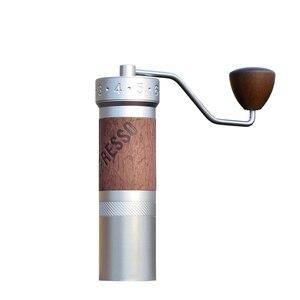 Image 1 - 1zpresso k pro kahve değirmeni taşınabilir manuel kahve değirmeni 304 paslanmaz çelik çapak ayarlanabilir 40mm özel çapak