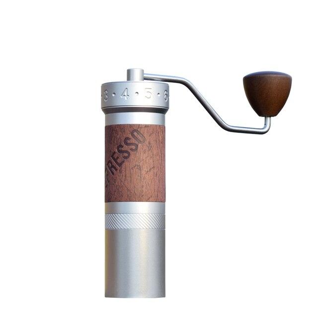 1zpresso k pro kahve değirmeni taşınabilir manuel kahve değirmeni 304 paslanmaz çelik çapak ayarlanabilir 40mm özel çapak