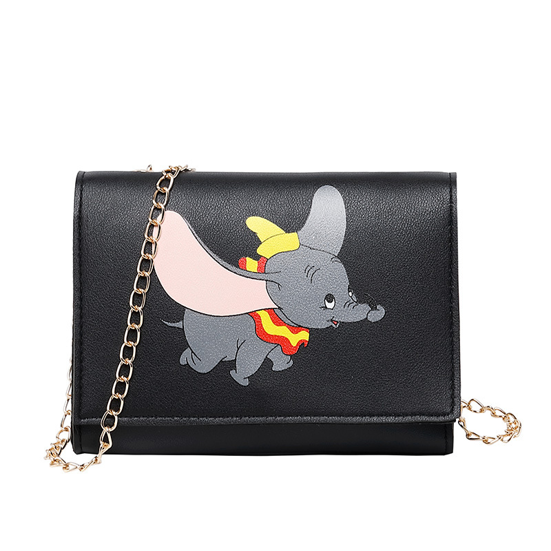 Women Shoulder Bag 2019 Luxury Handbags Women Designer Small Bags Girls Cartoon Prints Flap Messenger Crossbody Bolsa Feminina