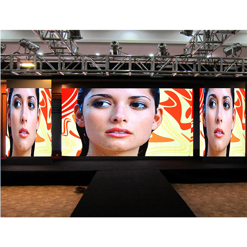 Indoor LED Video Wall Screen P3mm SMD2121 Die Casting Aluminum Cabinet 576*576mm, LED Advertising Billboard Display Panel
