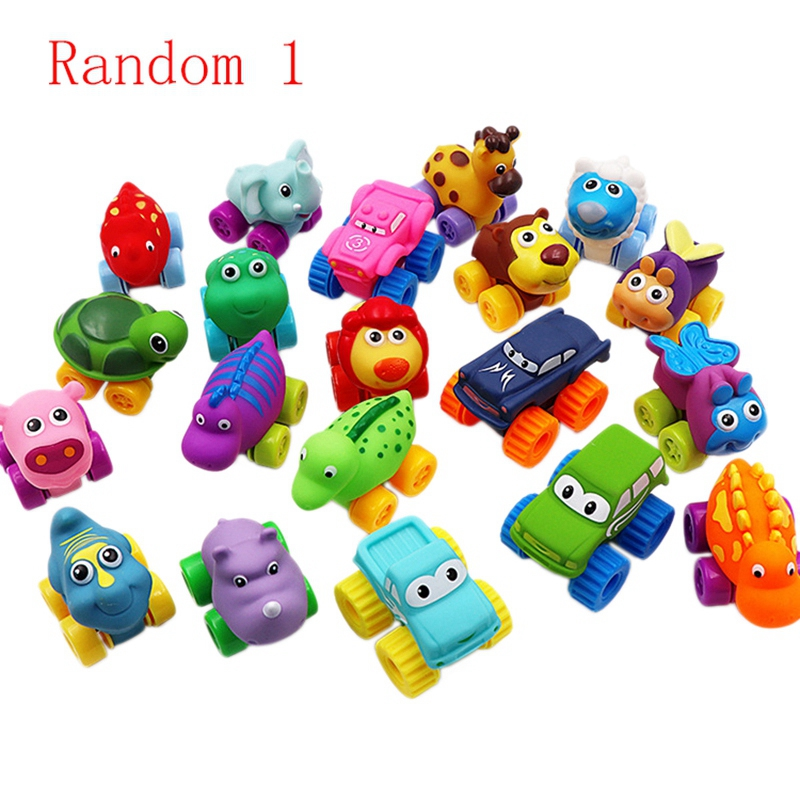 Soft Rubber Car Crawling Car Bathing Water Puzzle Children'S Toys