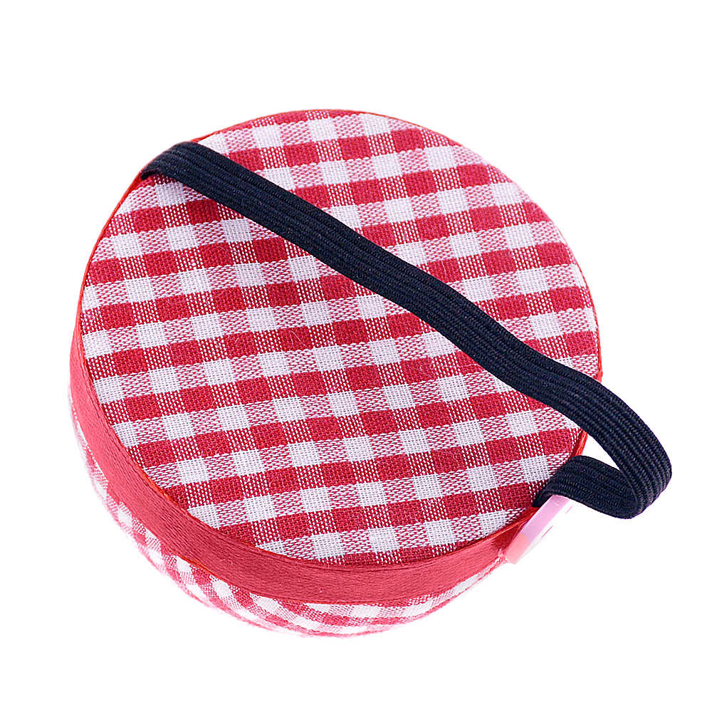 1pcs Bal Vormige Naald Pin Kussen DIY Kruissteek Hulpmiddel Pincushions Met Elastische Pols Riem Naaien Accessoires