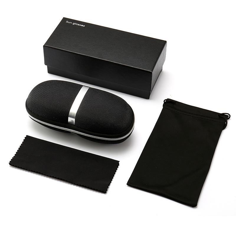 New Style Lens Case Set Wholesale SUN Glasses Packaging Folding Cardboard Box Cover Factory Direct