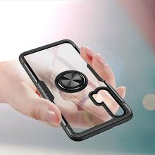 For huawei honor 20 cover Pro with Magnetic Vehicle Support Ring case 10 10lite play Transparent Case